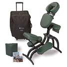 Picture of Earthlite Includes Chair, Sternum Pad, Instructional DVD and Carry Case with Wheels Reiki Tables