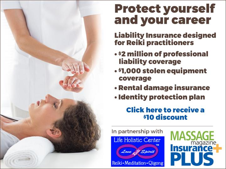 Liability Insurance for Reiki Practitioners